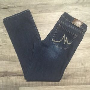 Maurices mid rise straight jeans. Size 11/12 short